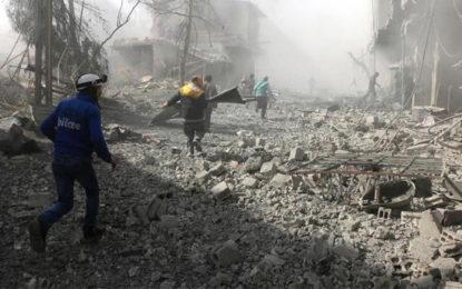 சிரியாவில் அரசுப்படைகளின் தாக்குதல் – 250 பேர் உயிரிழப்பு…