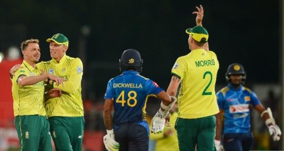 இரண்டாவது இருபதுக்கு-20 போட்டியில் தென் ஆப்பிரிக்க அணி வெற்றி…
