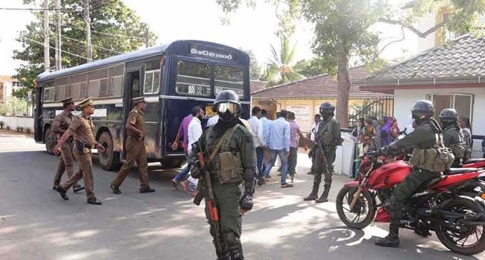 கைதான 63 பேரும் மீண்டும் விளக்கமறியலில்