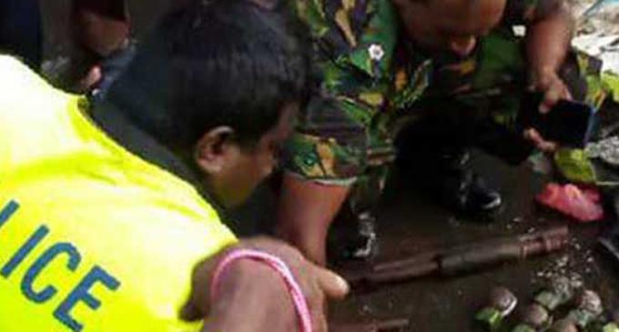 ஹோமாகம பகுதியில் ஒரு தொகை வெடிபொருட்கள் மீட்பு