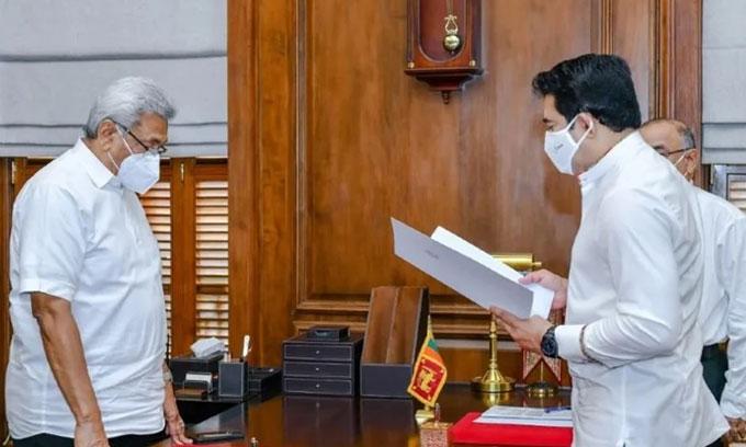 இராஜாங்க அமைச்சராக ரொஷான் ரணசிங்க