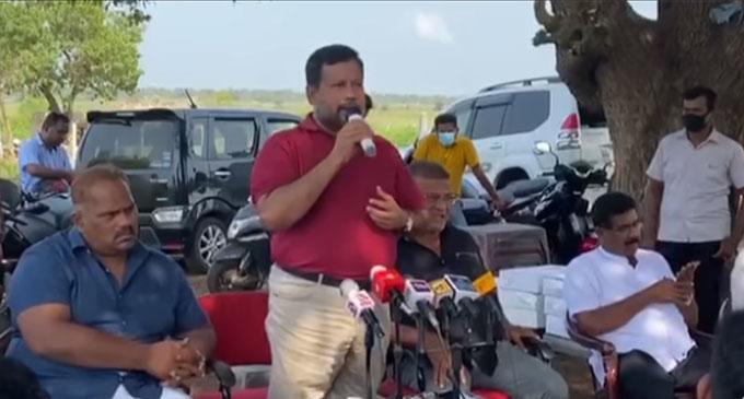 """""""அரசின் இயலாத்தன்மைகளை மறைக்க என் மீது பலி"""" – ரிஷாத்"""